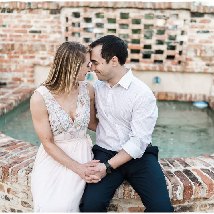 Winter Park Engagement | Justin + Lauren | Winter Park, FL