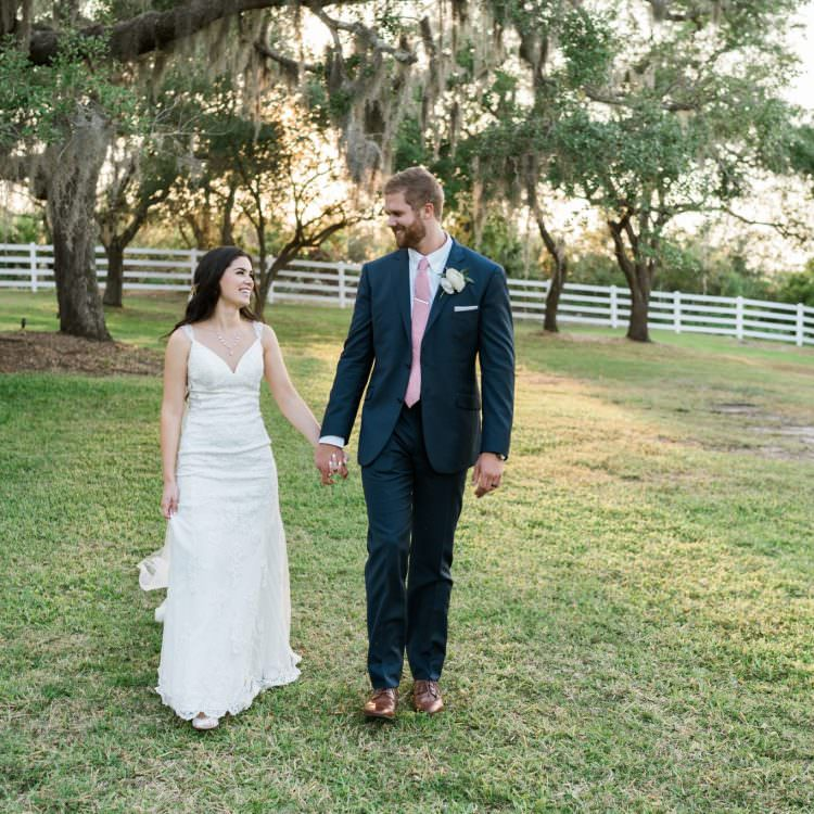 Up the creek farms wedding | Natalie and Tim | Malabar, Florida