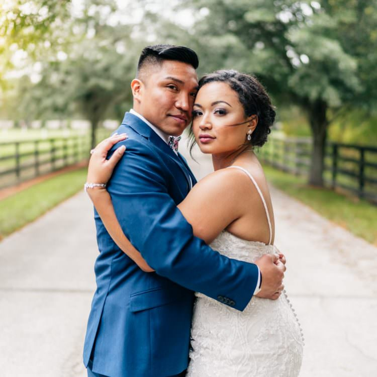 Club Lake Plantation Wedding | London and Julius | Orlando, FL