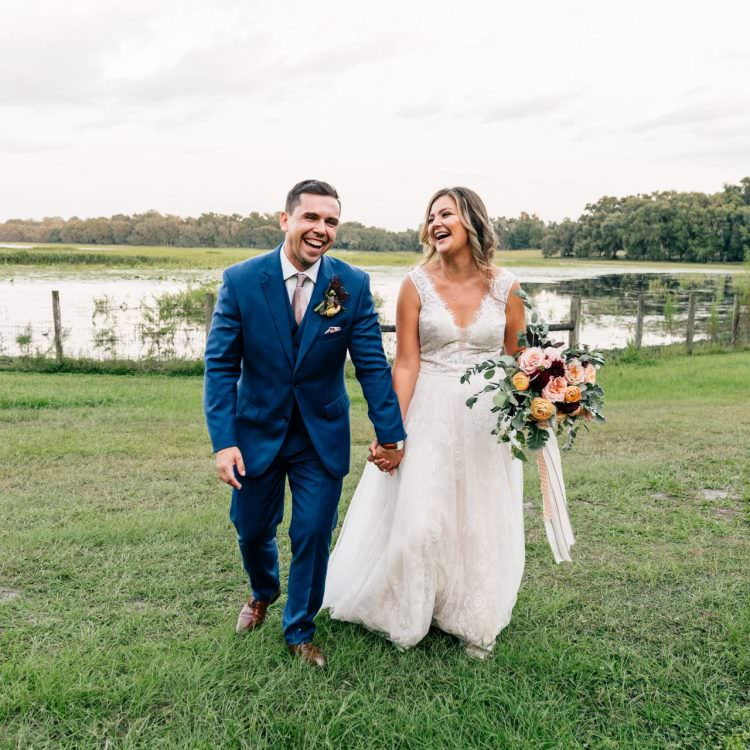 Lakeside Ranch Wedding | Andrea and Daniel | Iverness, FL