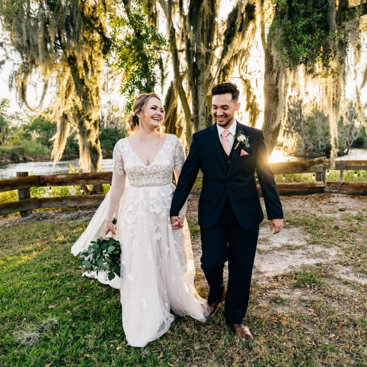 Florida Rustic Barn Wedding | Casey and Matthew | Plant City, FL